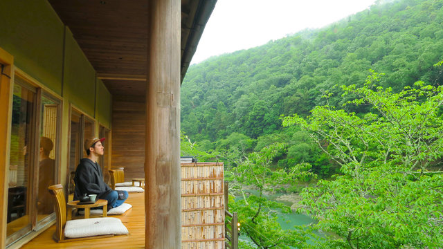 Kyotos Ryokan der Ruhe und Ästhetik