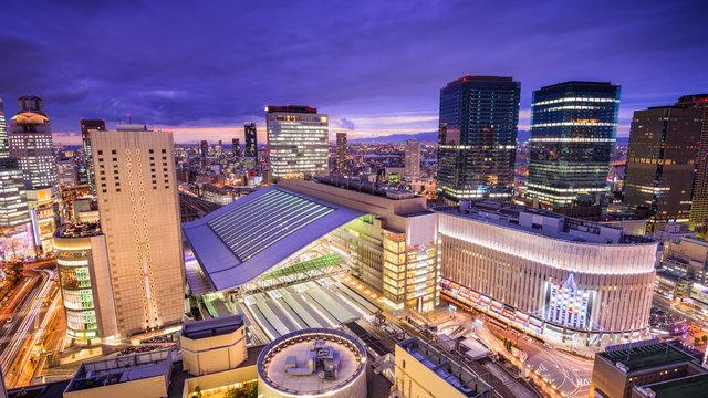 Der Bahnhof Osaka und sein Nachbar Umeda
