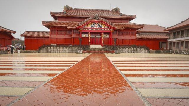 Brand in der Shuri-Burg: Okinawa verliert sein Wahrzeichen