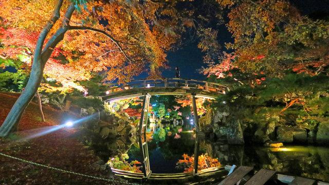 Die Herbstfarben von Hikone