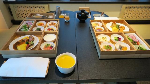 Frühstück in Japan