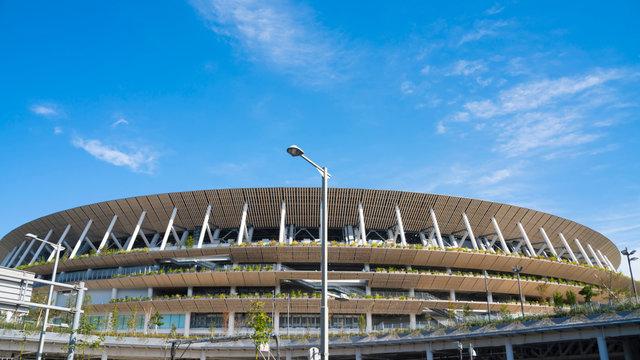 Das Herzstück von Tokyo-2020 ist vollendet