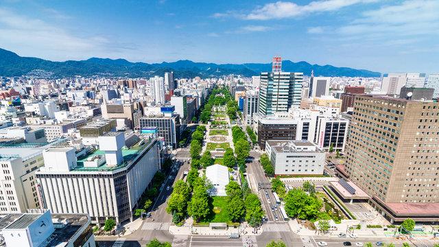 Der Tokio-2020-Marathon in Sapporo