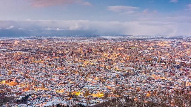 In Hokkaido beginnt der Winter