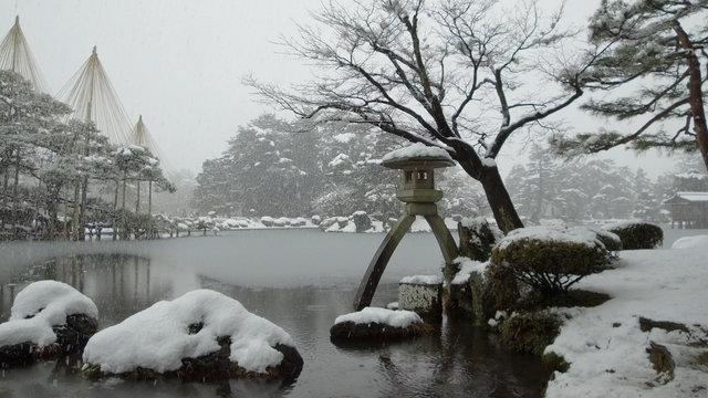 Japan im Winter