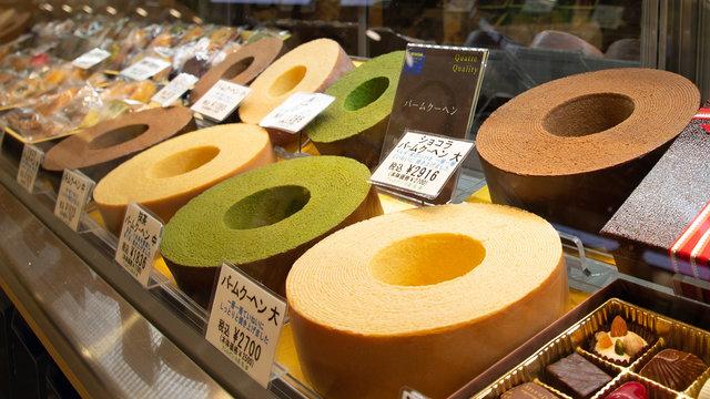 Japans Baumkuchen-Kultur