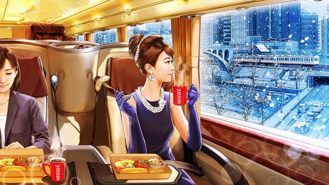 Mit dem luxuriösen Frühstücks-Bus zur Arbeit pendeln