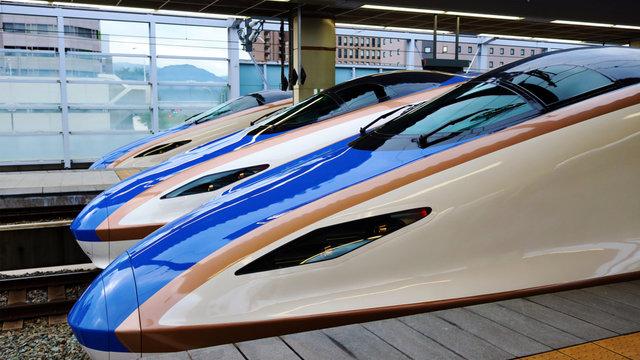 Totalschaden: 10 Shinkansen verloren