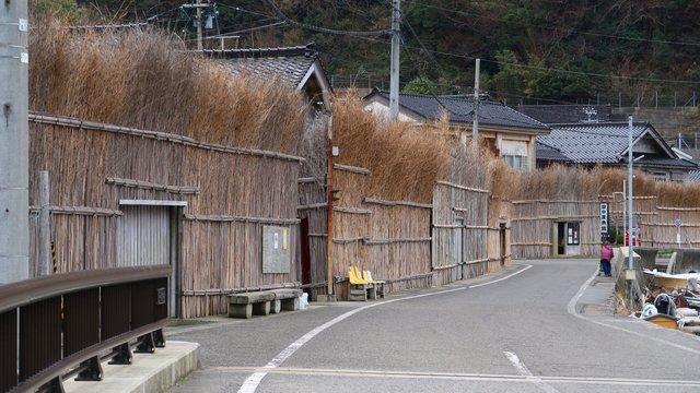Die Bambuszäune von Ozawa