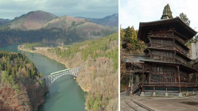 Die schönste Bahnstrecke Japans