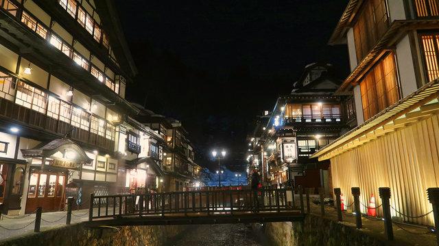 Ginzan-Onsen: Der verzaubernde Badeort