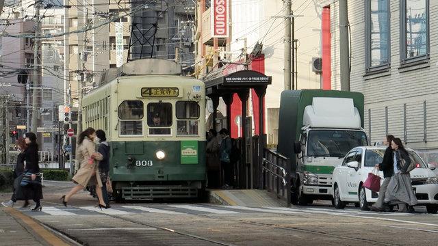 Nagasakis Strassenbahn: Ein Erfolgsmodell