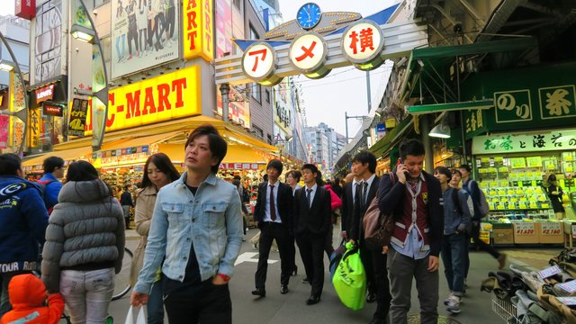 Legendäre Quartiere in Tokio
