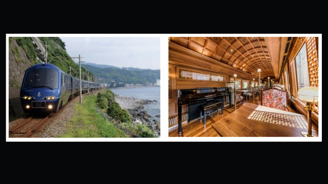 Mit dem Luxuszug durch Hokkaido