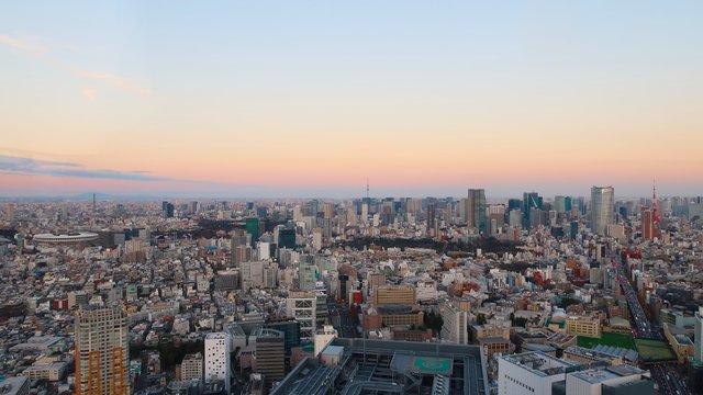 Drei Wahrzeichen von Tokio auf einen Blick