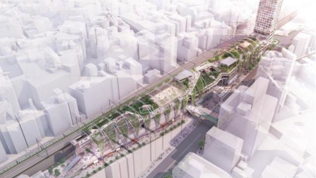 Shibuya erhält seine «High Line»