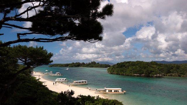 Die malerische Bucht