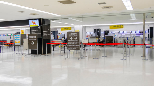 Japan schliesst die Tore für Reisende aus Europa