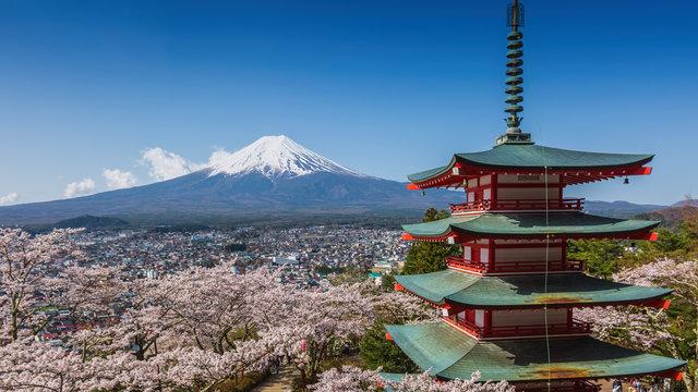 Chureitō: Die berühmteste Aussicht auf den Berg Fuji