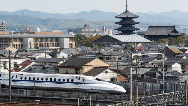 Der Shinkansen in der Krise