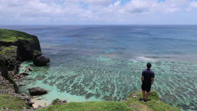 Die Insel am Ende von Japan