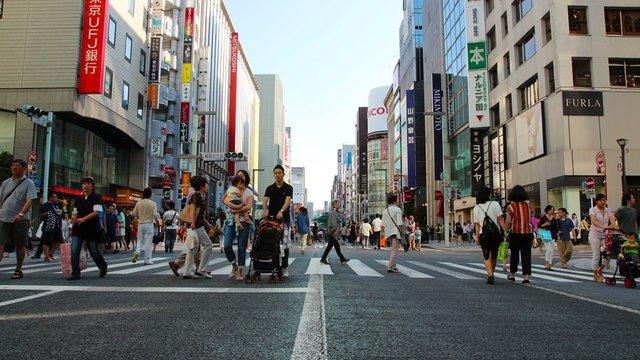 «Ginza Hokoten»: Tokios Fussgängerparadies