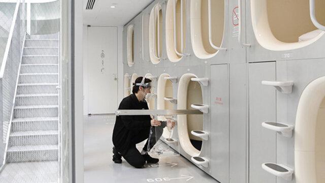 «Nine Hours»: Das Designer-Kapselhotel eröffnet wieder