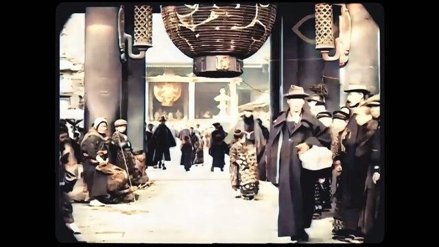 Tokio vor 100 Jahren, neu gesehen