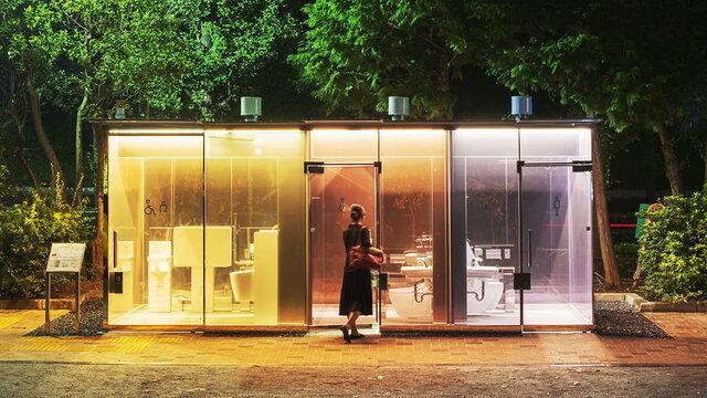 «The Tokyo Toilet»: Designer-Toiletten für Tokio