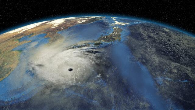 Die neue Taifun-Prognose