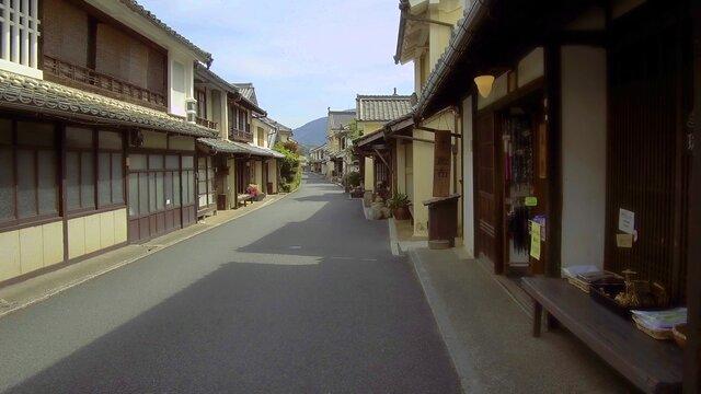 Historische Quartiere in Japan