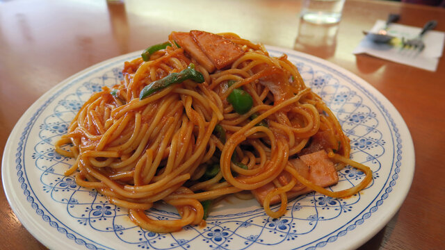 Naporitan: Spaghetti auf Japanisch