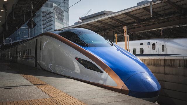 Der Shinkansen im Jahr 2023