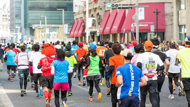 Der Tokyo-Marathon 2021