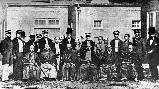1860: Die Ankunft der Samurai in New York