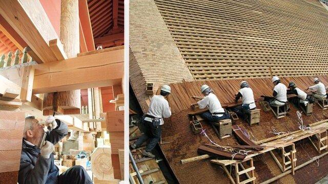 Weltkulturebe: Japans Meister der Holzarchitektur