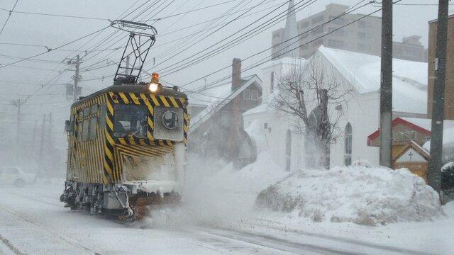 Sapporos legendärer Schneeräumzug