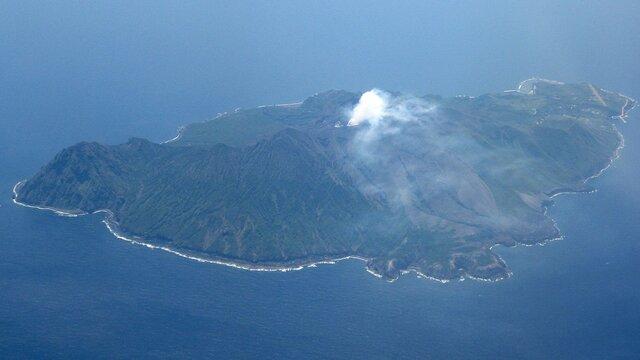 Leben auf einer aktiven Vulkaninsel