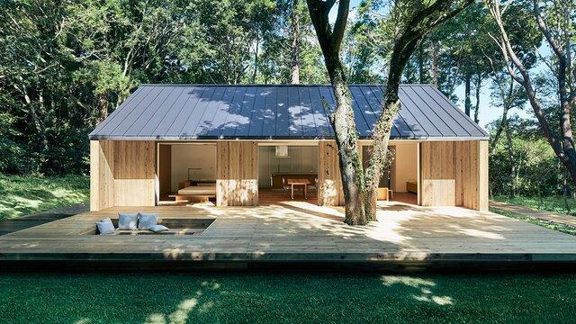 Das minimalistische Wohnhaus