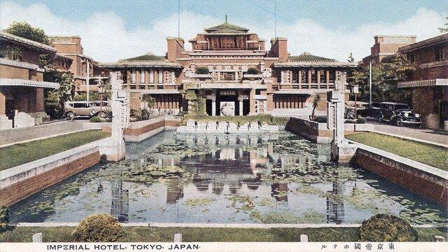 Das geschichtsträchtige Imperial Hotel