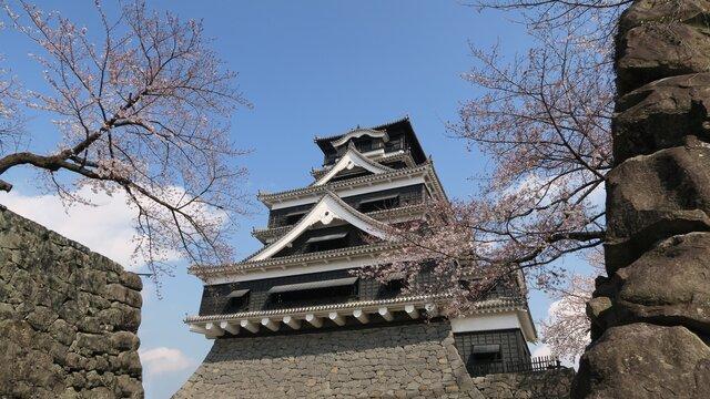 Die Burg von Kumamoto