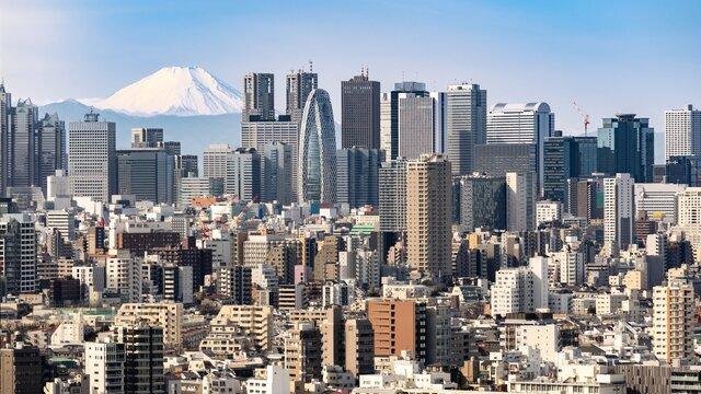 Tokios ältestes Wolkenkratzer-Viertel