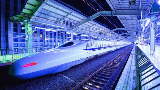 Eine Nacht im Shinkansen