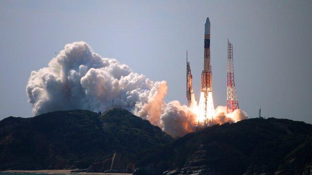 Japans Weltraumbahnhof