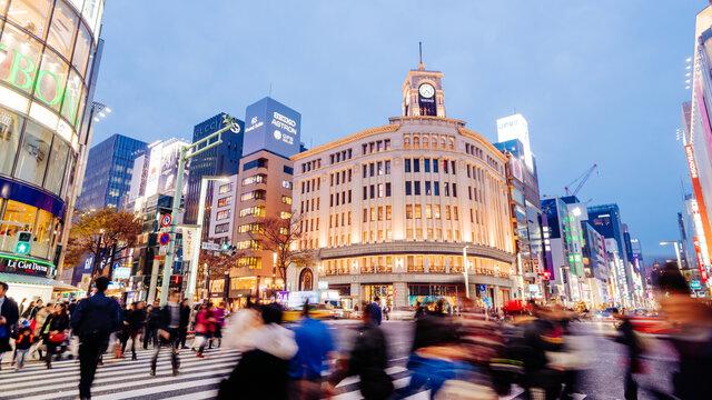 Eine Zeitreise durch das Ginza-Quartier