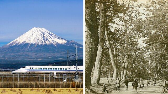 Von Tokio nach Osaka: gestern und heute