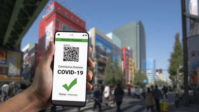 Japan plant Covid-Zertifikat für den Alltag