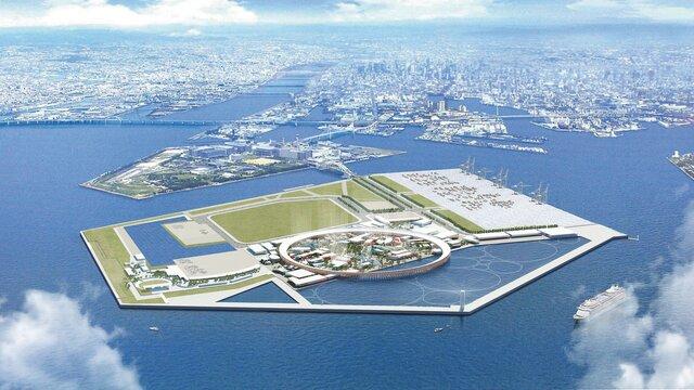 Osakas Insel der Träume