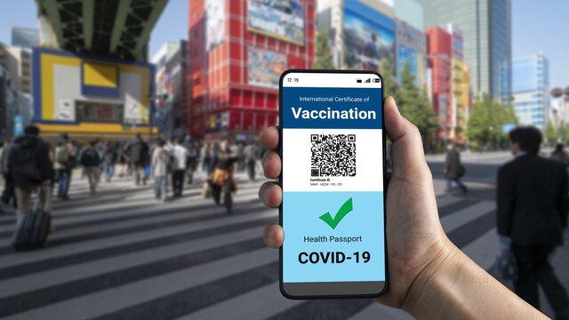 Japan anerkennt erste ausländische Covid-Zertifikate