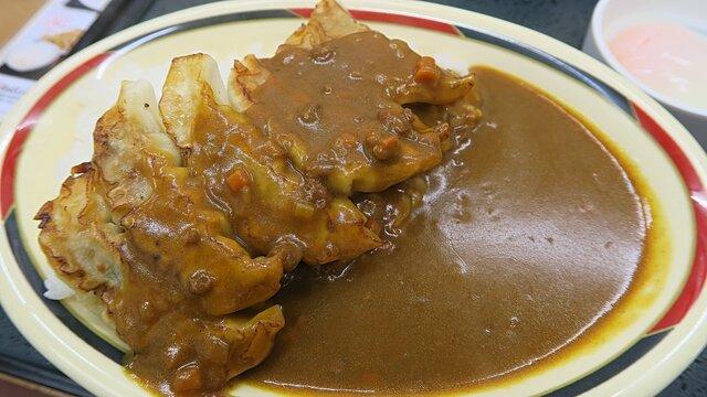 Gyoza mit Curry
